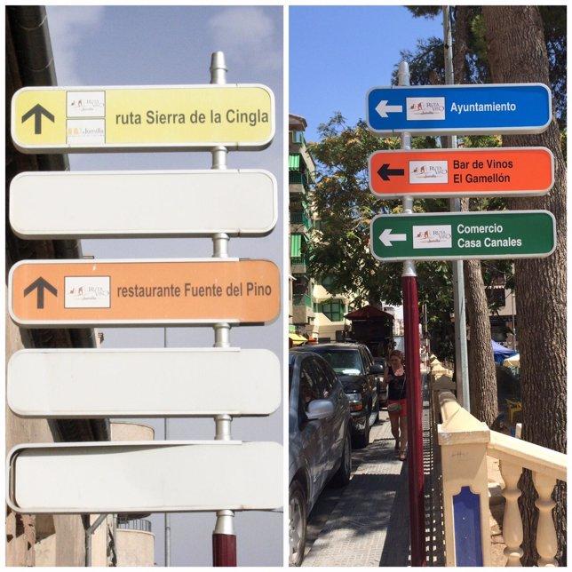 Jumilla finaliza la remodelación del conjunto de señalización turística