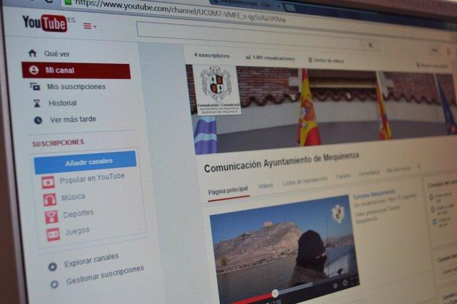 Portal Youtube para ver el descenso del Cinca