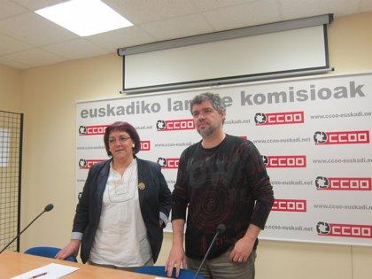 "CC.OO Euskadi defiende un modelo federal ""ambicioso"""