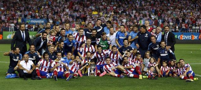 Atlético de Madrid, campeón de Supercopa