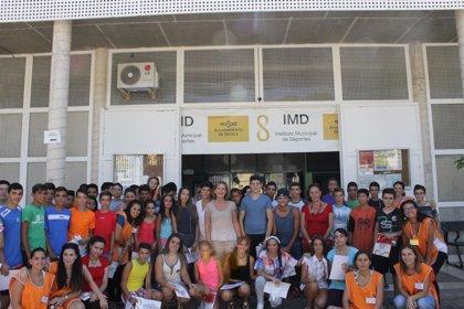 Unos 135 jóvenes participan en el programa de 'Verano Activo 2014' del Ayuntamiento