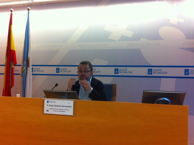 Jorge Suanzes en rueda de prensa sobre hábitos saludables