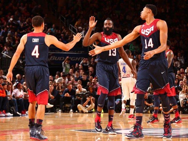 Harden Curry Estados Unidos selección estadounidense baloncesto