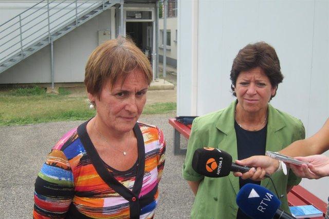 Las ministras de Salud y de Educación de Andorra