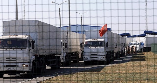 convoy ruso humanitario