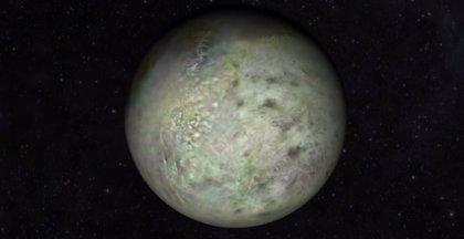 La NASA crea un mapa de Tritón a partir de imágenes de 1989