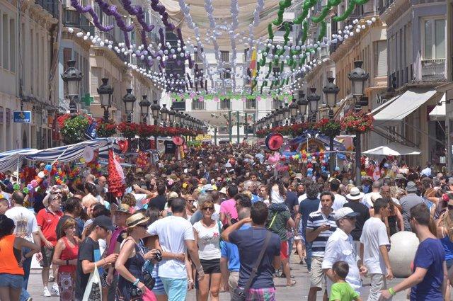 Feria del Centro de Málaga de 2013