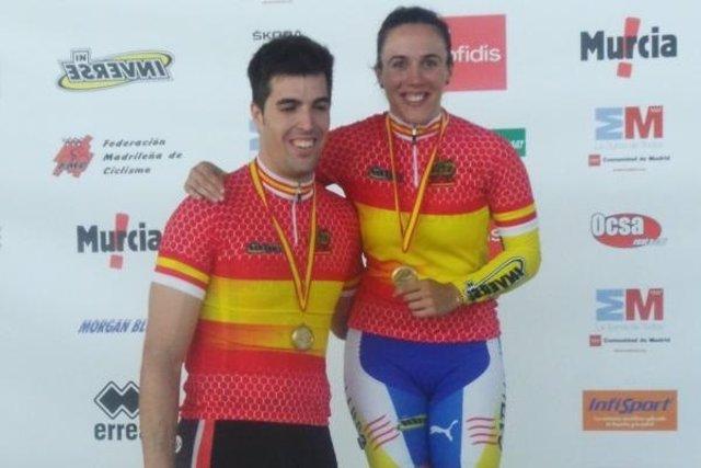 Juan Peralta y Helena Casas repiten triunfo en velocidad