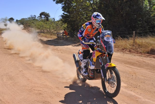 Marc Coma, tercero en la etapa prólogo del Rally dos Sertões