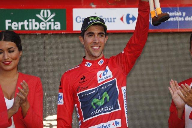 El ciclista Jonathan Castroviejo (Movistar)