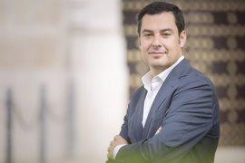 """Moreno critica la """"sinrazón"""" del PSOE con la reforma electoral y le avisa de que cometerá """"un grave error"""" no apoyándola"""