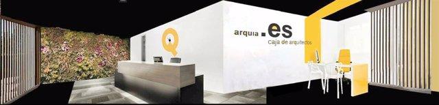 Proyecto de la nueva sede de Arquia en Valladolid