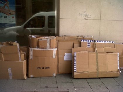 Aumenta el robo de cartón en Guadalajara