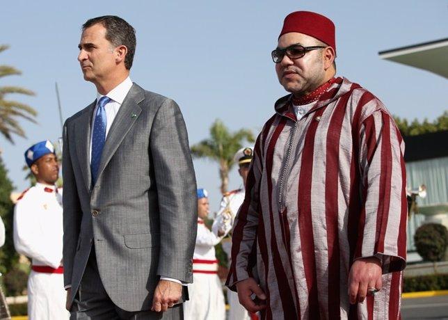 Felipe VI Y Mohammed VI