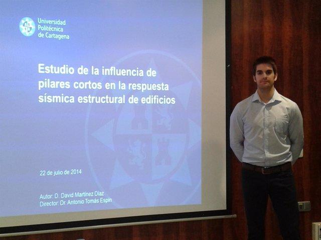 David Martínez Díaz presenta su trabajo de Fin de Máster