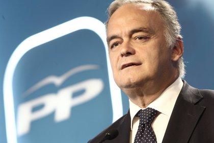 El PP espera que se traslade a España la colaboración europea entre socialistas y populares