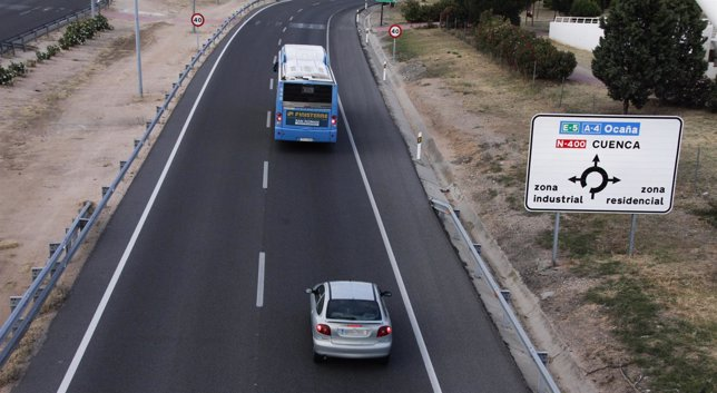 Carretera, tráfico, coches, atascos, vehículos, autovía, operación salida