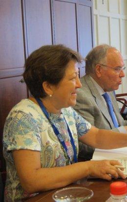 Pilar Farjas en la UIMP