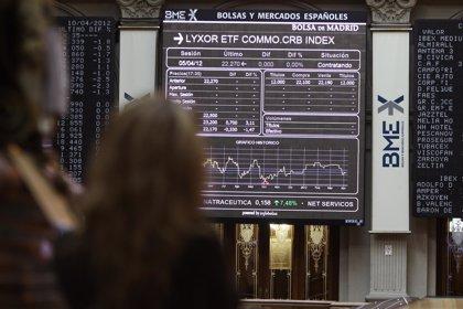 Economía/Bolsa.- El Ibex avanza un 0,91% en la media sesión y apunta a los 10.600 enteros