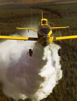 Avión de extinción de incendios del MAGRAMA
