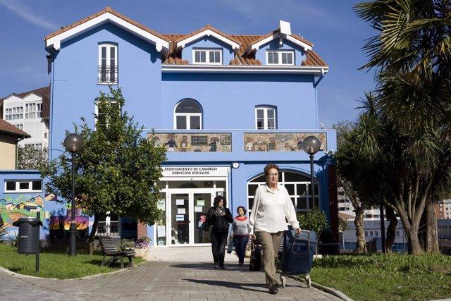 Casa Altamira, sede de los Servicios Sociales de Camargo