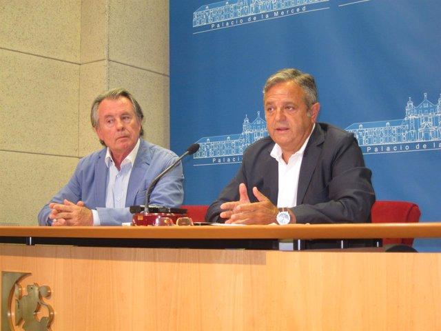 Manuel Gutiérrez y Salvador Fuentes