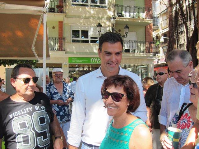 El secretario general del PSOE, Pedro Sánchez Pérez-Castejón