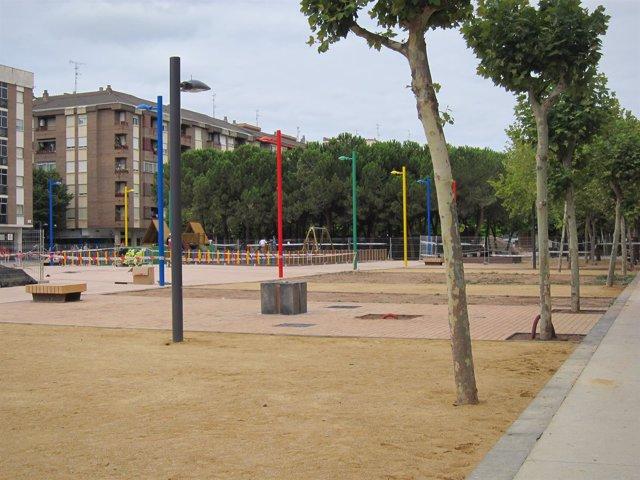 Imagen de la Plaza Primero de Mayo remodelada