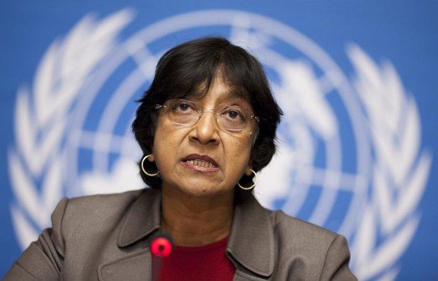 La Alta Comisionada De La ONU Para Los DDHH, Navi Pillay