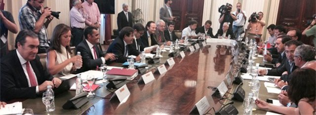 Reunión en Agricultura por veto de Rusia