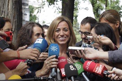 """El PSC dice que Chacón irá a la Diada alternativa de Sociedad Civil Catalana """"a título individual"""""""