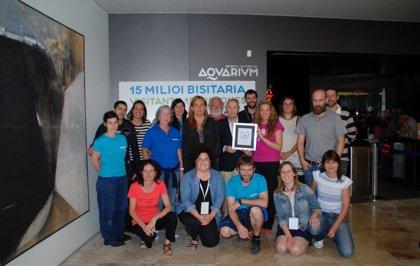 El Aquarium de San Sebastián recibe la placa 'Travellers Choice'