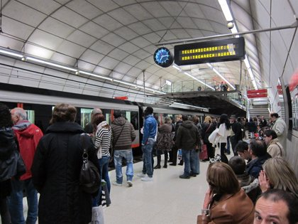 Metro contabiliza 2,4 millones de viajes con motivo de Aste Nagusia