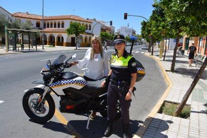 La Policía Local de Bormujos incorpora a su flota una motocicleta eléctrica