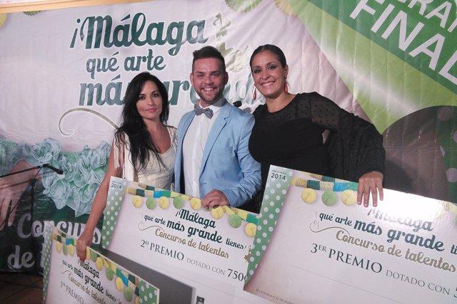 Ganadora del I Concurso Málaga que arte tienes