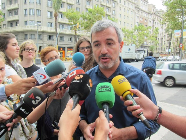 El alcaldable del PSC en Barcelona, Jaume Collboni.