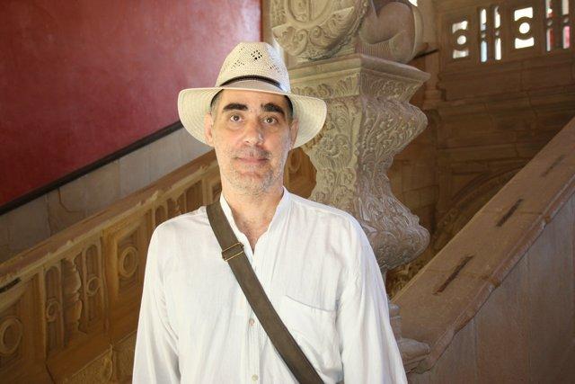 El profesor Luis Delgado