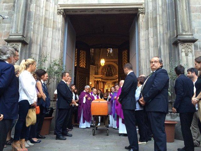 Funeral del editor Jaume Vallcorba