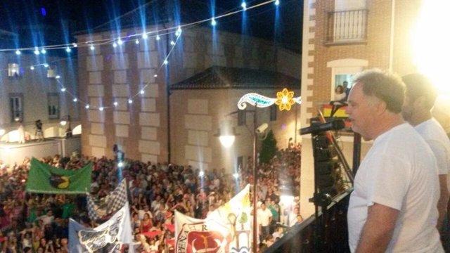 Chupinazo de inicio de las fiestas de San Sebastián de los Reyes