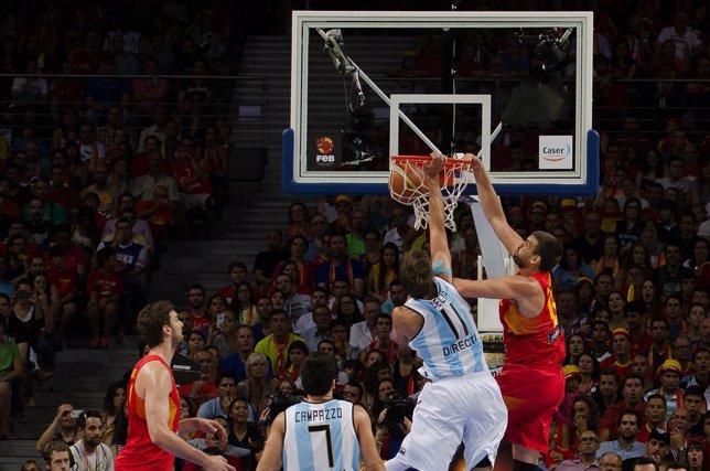 Amistoso España Argentina Marc Gasol