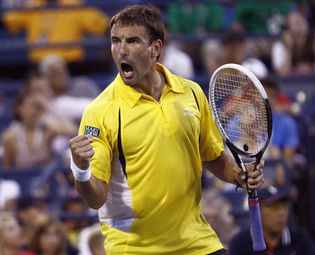 El tenista español Tommy Robredo