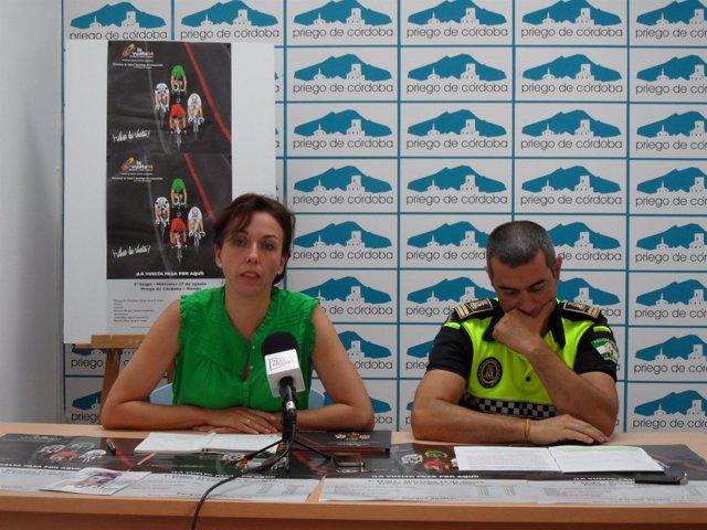 Presentación del dispositivo para la Vuelta en Priego