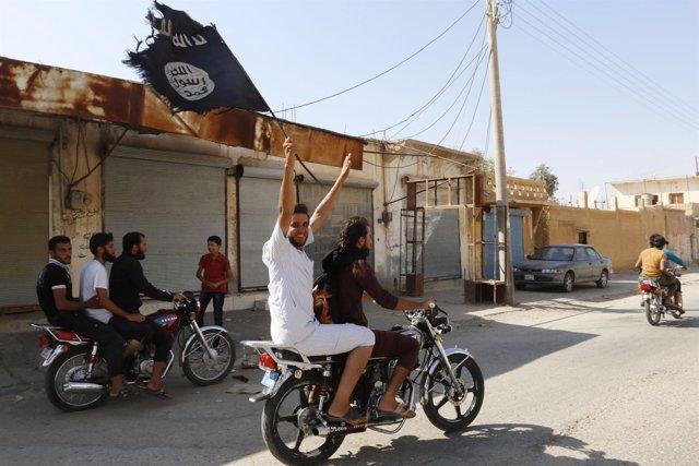 estado islámico en siria