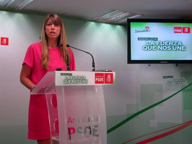 Estefania Martín Palop, secretaria de Salud y Consumo del PSOE-A