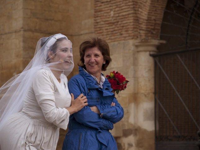 Un momento del espectáculo 'Juana la siempre novia'