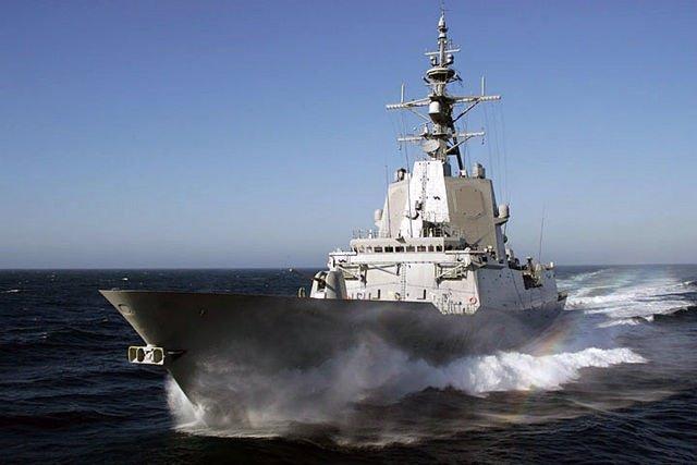 """Fragata """"Almirante Juan de Borbón"""""""