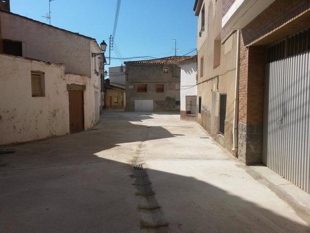 Renovación de la Calle García en Longares