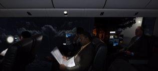 Visión del 'fuselaje invisible'