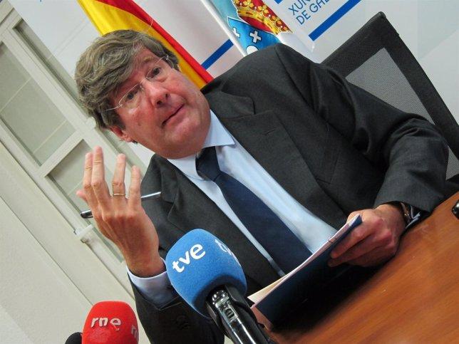 El presidente del Consello Galego da Competencia (CGC), Francisco Hernández