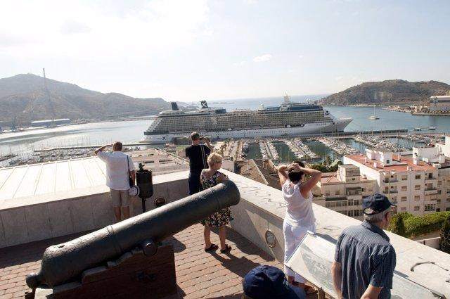 Crucero Eclipe En Cartagena
